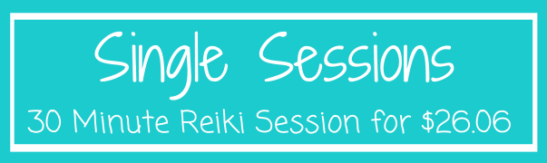 Reiki Packages - Single Session 30 minutes