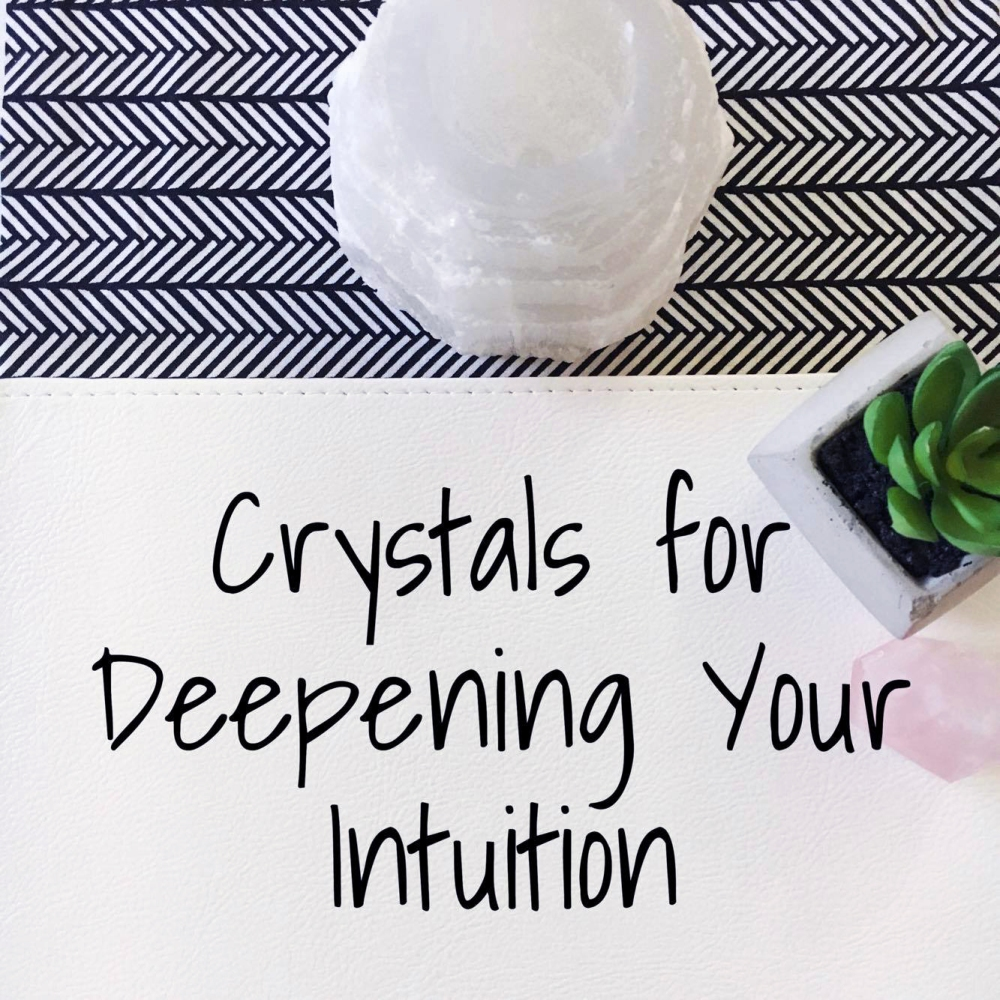 Crystals for Deepening Your Intuition 01